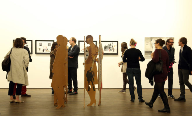 Fragile Sense of Hope, me Collectors Room, Berlin, Opening, Photo: Jirka Jansch
