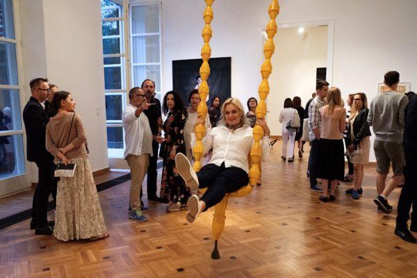 Opening:Półprawda| Half–Truth,Krolikarnia Palast, Warsaw,10 Sep – 22 Oct 2017,Photo: Bartosz Górka