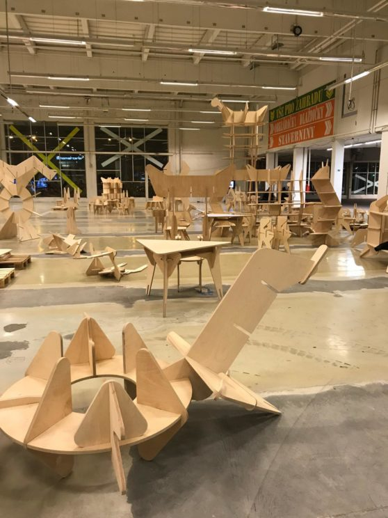 Temporary Structures 4, Plato Ostrava, Czech Republic, 22 Nov 2018 - 31 Mar 2019,Photo:Martin Polák