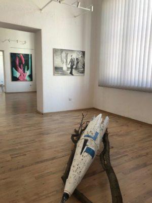 Listen To Us - Artistic Intelligence, Plovdiv, City Gallery, 4.4.-30.6.2019, Photo Mihail Novakov