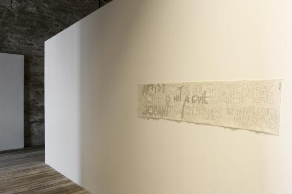 Hristina Ivanoska and Yane Calovski, We are all in this alone, 56. Biennale di Venezia, Detail, Foto Sara Sagui