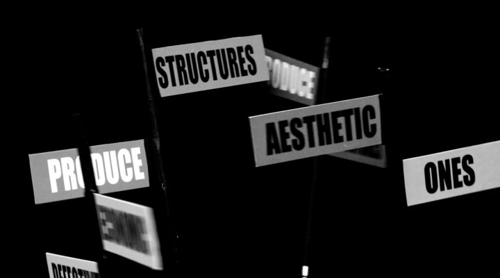 Jasmina Cibic, Defective economic structures..., 2021 videostill