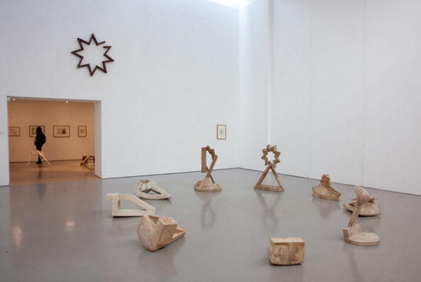 Paul Neagu Palpable Scultpure Henry Moore Institute 2015 installation view Nine Catalytic Stations Photo Jerry Hardman Jones courtesy Estate and Ivan Gallery