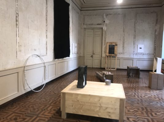Reflected Positions – Alicja Kwade and Nino Kvrivishvili, Kunsthalle Tiflis im Seiden Museum