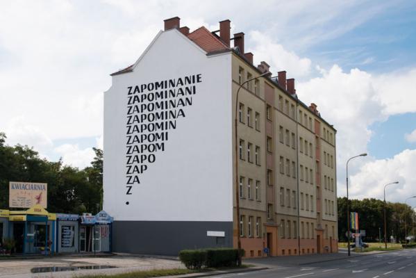 Stanislaw Drozdz Mural Zapominanie Photo Malgorzata Kujda
