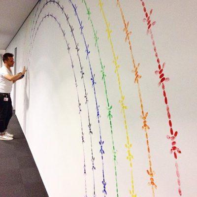 Mircea Cantor, Rainbow, Headquarter Bonn 2017
