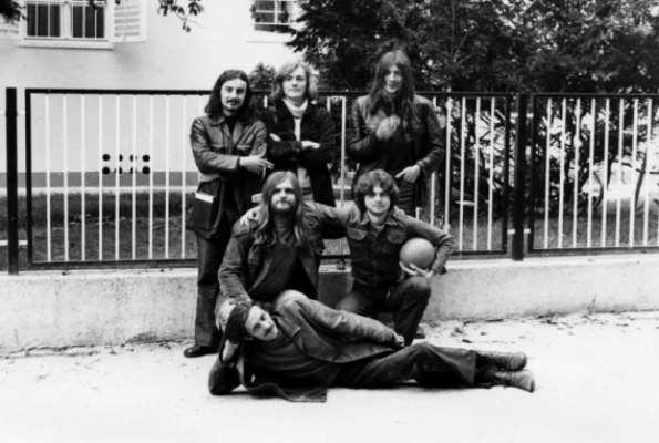 Group of Six Artists: Mladen Stilinović, Boris Demur, Fedor Vučemilović, Vlado Martek, Sven Stilinović, Zeljko Jerman, Zagreb 1975, courtesy Branca Stepančić