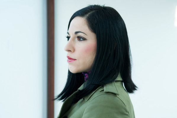Jasmina Cibic, Portrait, Foto Pete Moss