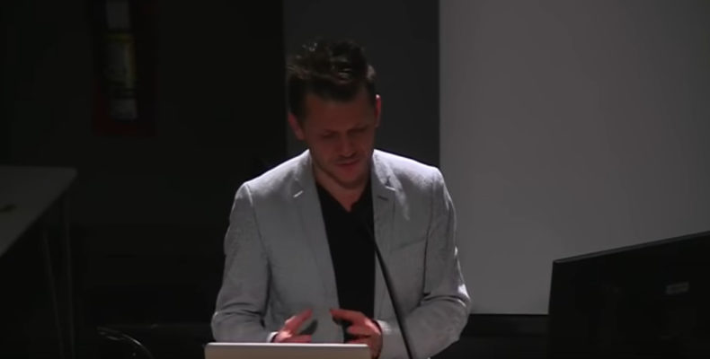 Mircea Cantor, Rennie Collection Speaker Series, Emily Carr University, 2014