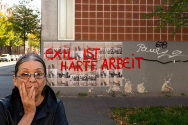 Portrait Nil Yalter in Koln 2019 Foto Henning Krause