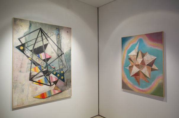 Genti Korini, Abstract 11-11, Abstract 11-12 im Art Digit, Art Cologne 2014