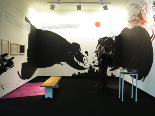Volodymyr Kuznetsov, How to deal with the Pigs, Art Cologne 2015