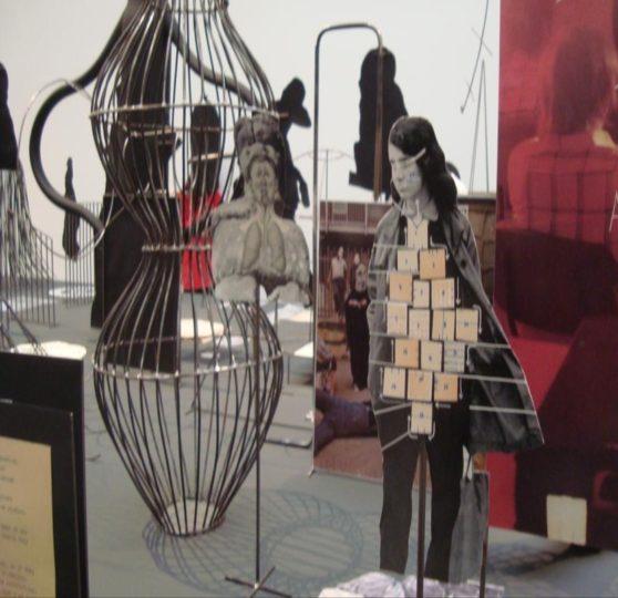 Eva Kotátková Asylum, 2013, Installation view The Encyclopedic Palace, 55th Venice Biennale, Courtesy Riegger Gallery