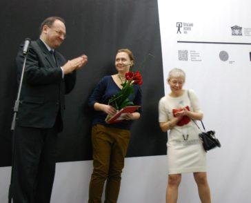 Lada Nakonechna, Malevich Award 2014, Photo: PLInstitute Kyiv