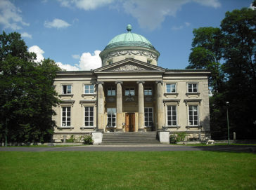Skulpturen Palast Krolikarnia, Warsaw