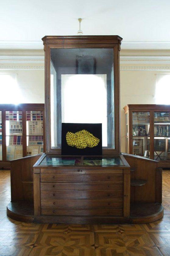 Nino Kvrivishvili, Installation view, Silk Museum, Photo Guram Kapanadze