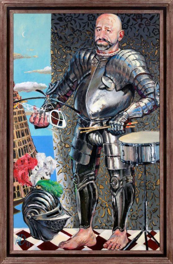 Photo: Nedko Solakov, from: Knights (and other dreams), 2010 - 2012 ©Nedko Solakov and Galleria Continua, San Gimignano