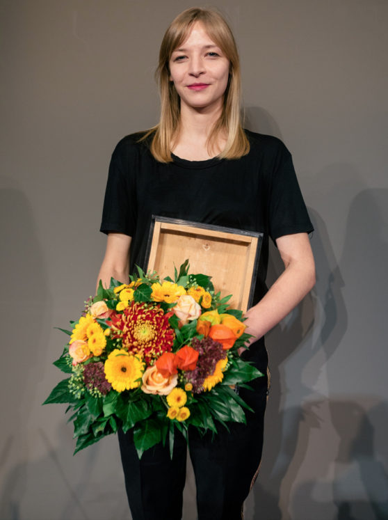 Agnieszka Polska, Preis der Nationalgalerie, Photo David von Becker