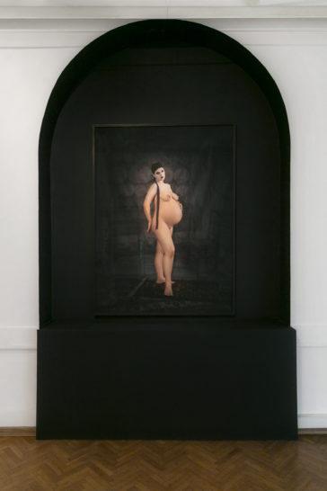 Sejla Kameric, Embarazada, 2015, KIBLA Maribor 2018, Installation view, Photo Janez Klenovsek