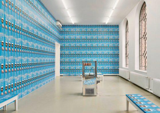 Sauer Power, Slavs and Tatars, Kunstverein Hannover, 7 Dec 2018 - 27. Jan 2019, Foto: Raimund Zakowski, Courtesy: the artists, Kraupa-Tuskany Zeidler, Berlin