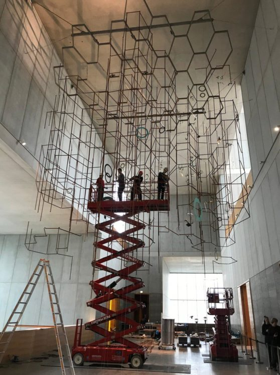 Installation at MdbK, Leipzig