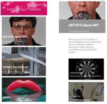 Art Collection Telekom APP