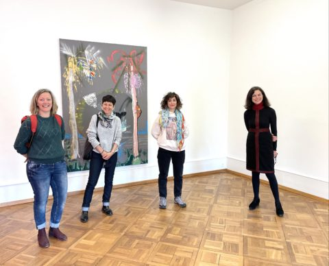 Nilbar Güreş, Prix Maud Mottier 2021, Nilbar Güreş, Director Filcity Lunn, links Jury Mitglieder, Foto Stefan Rohner