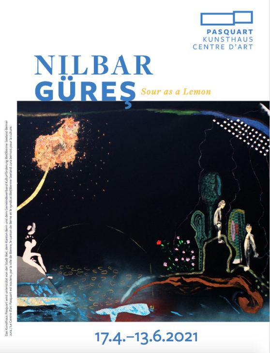 Nilbar Güreş, Poster Kunsthaus Pasquart, 2021