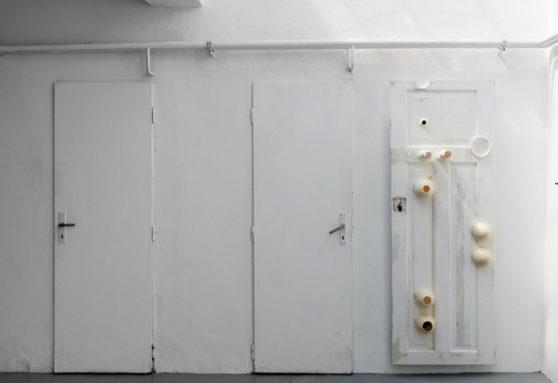 Piotr Lakomy 3 inch Giant in Your Bathroom Art Futura Prague 2019