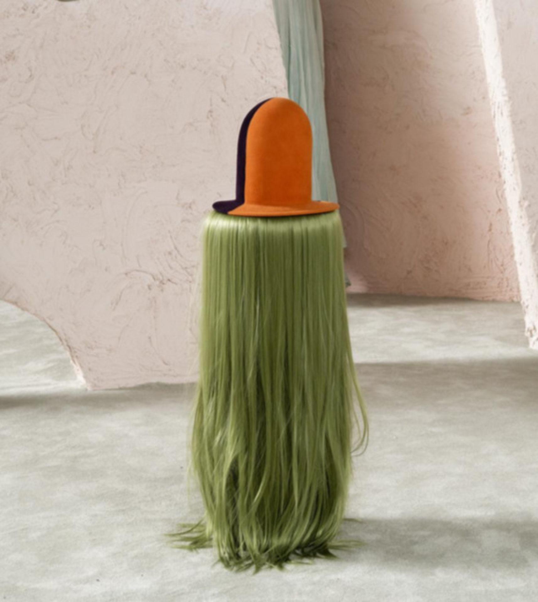 Klára Hosnedlová, Untitled, Hat from the Series 'Ladies` Tears', 2019
