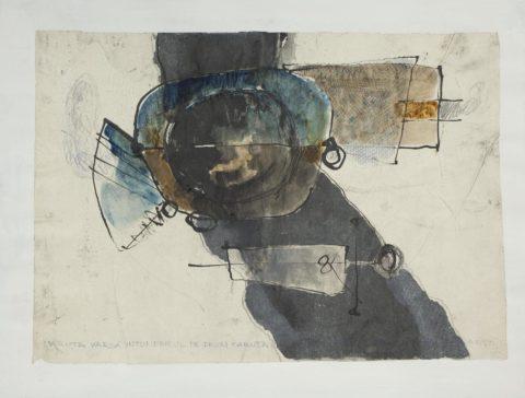 Geta Brătescu, Canzone, 1976, (1/5)