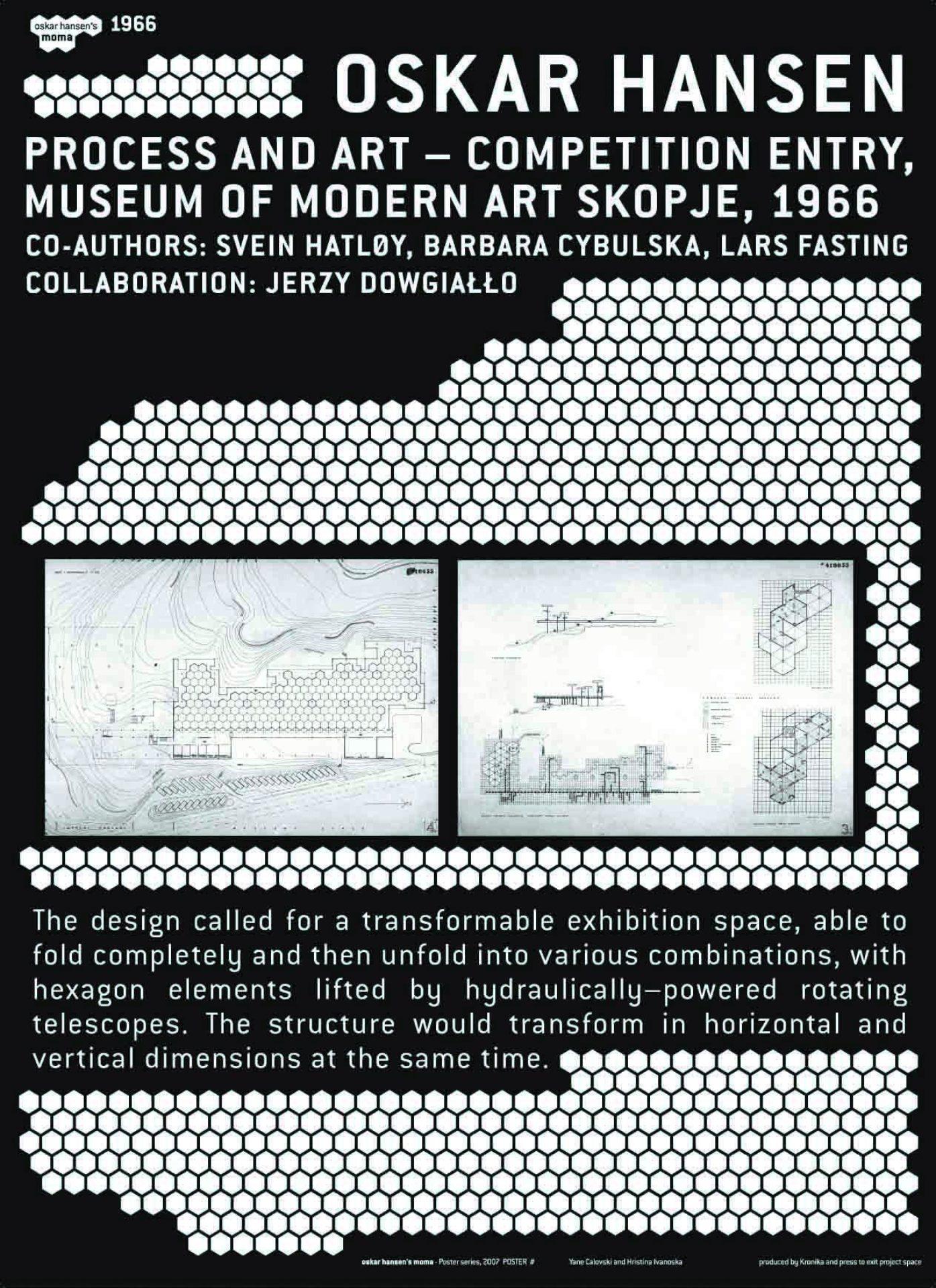 Hristina Ivanoska / Yane Calovski, The Oskar Hansen's Museum of Modern Art, 2007–2011, (2/12)