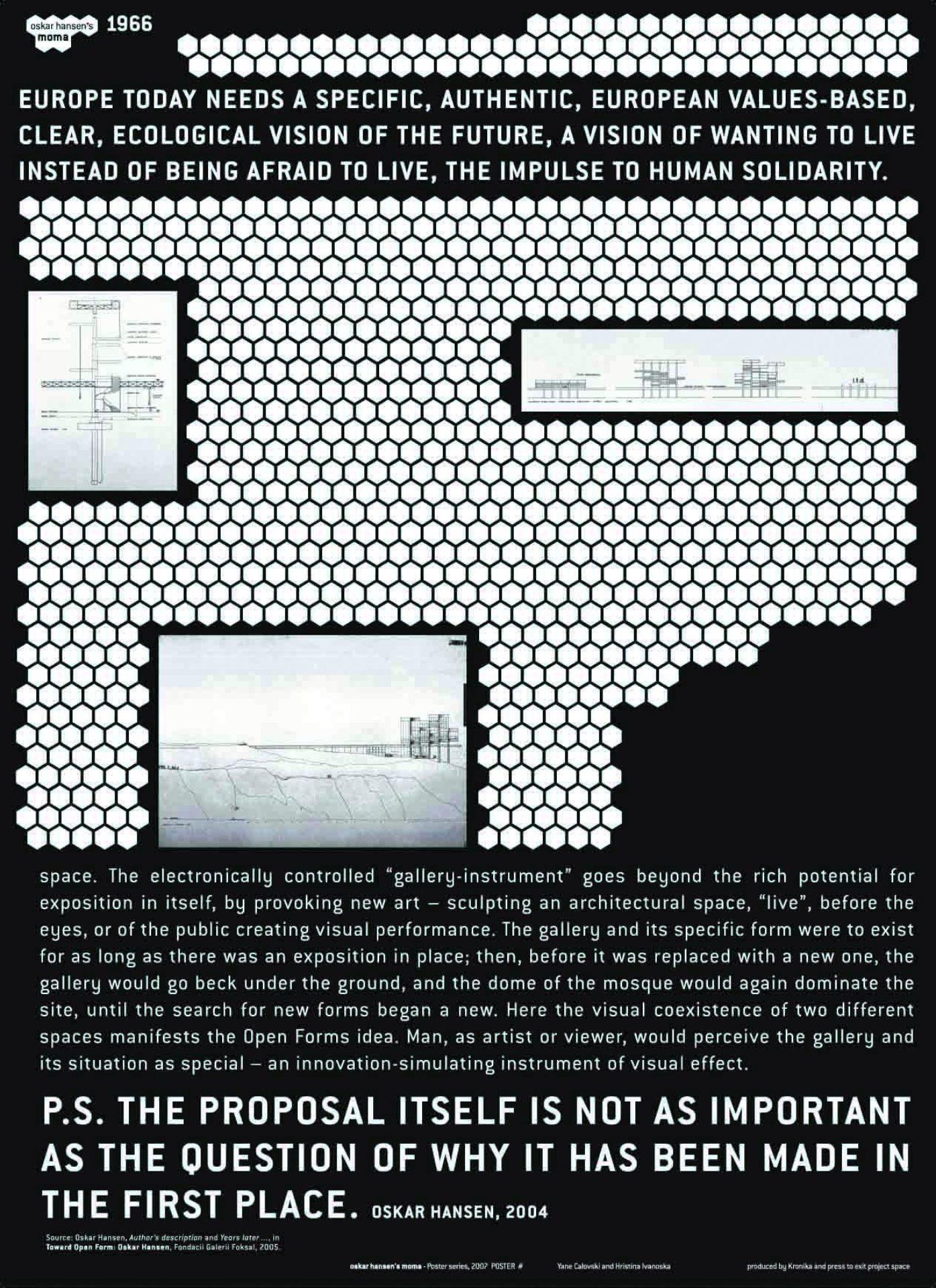 Hristina Ivanoska / Yane Calovski, The Oskar Hansen's Museum of Modern Art, 2007–2011, (4/12)