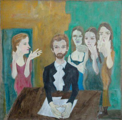 Levan Chelidze, Gossip Women, 2014
