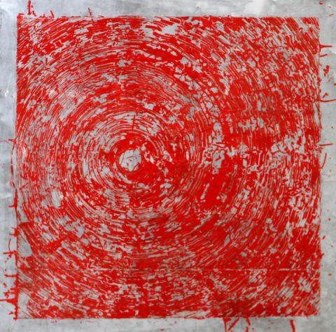 Szilárd Cseke, Red Swirl, 2015