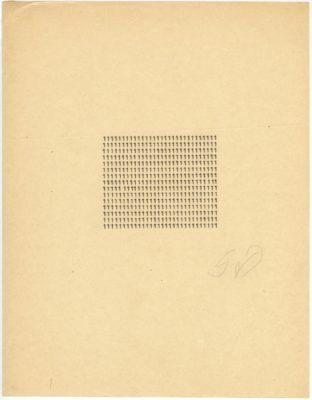 Stanisław Dróżdż, Solitude, 1967
