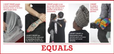 EQUALS COLLECTIVE, For the Acceptance of Diversity, 2017, (Poster)