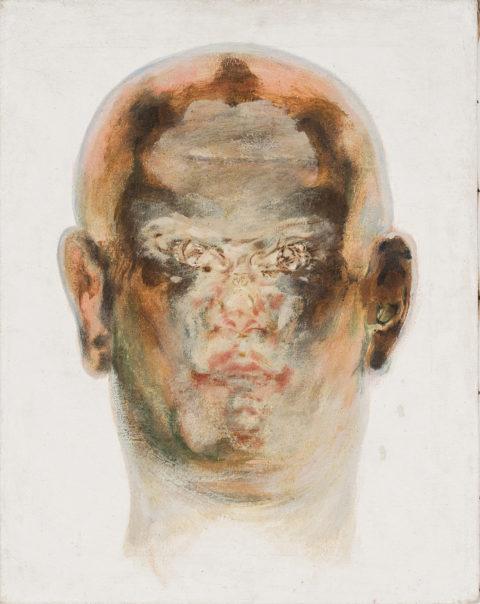 Ion Grigorescu, Buddha upside down, 1980