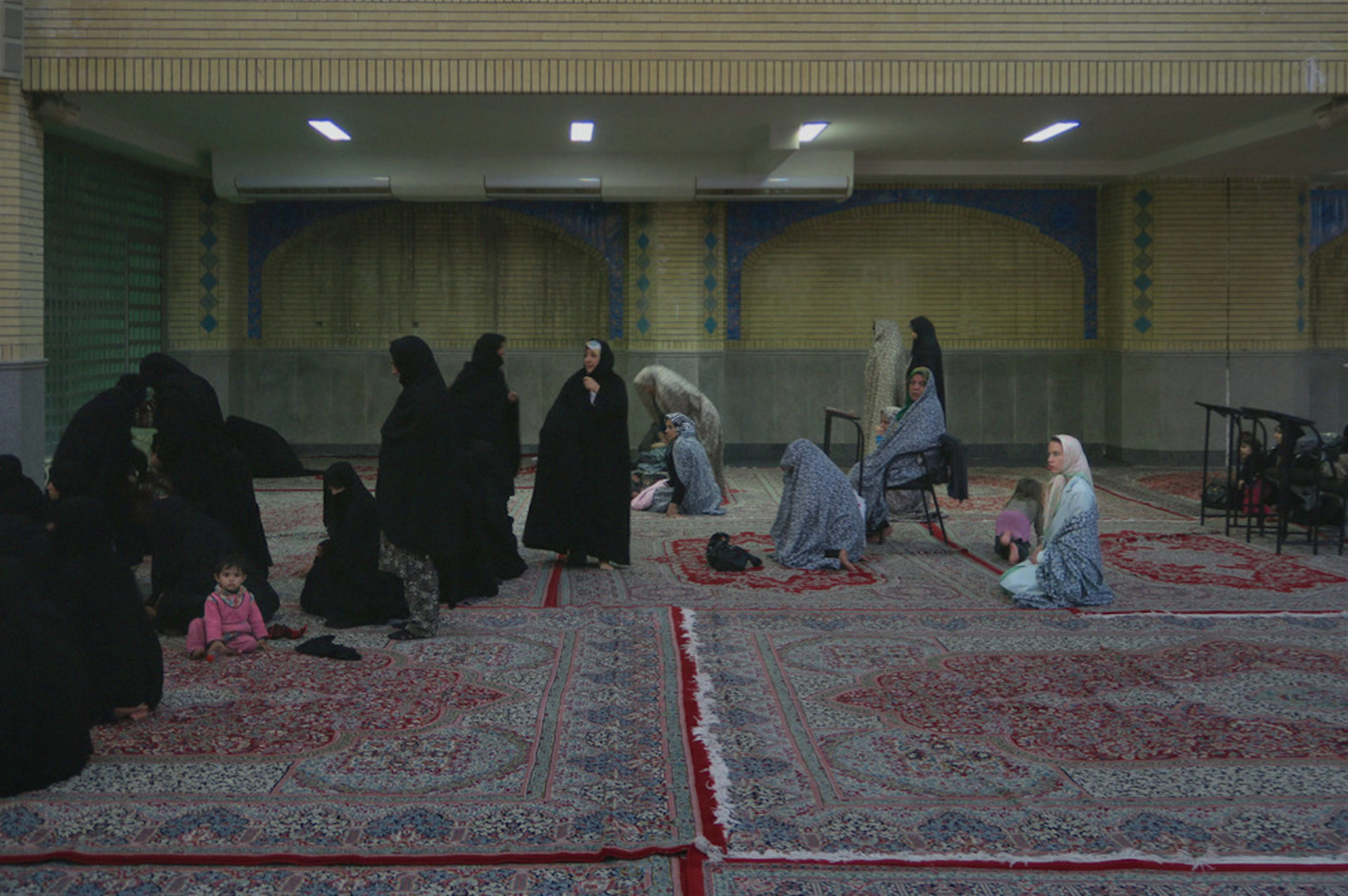 Aneta Grzeszykowska, Iranian Filmstills, 2015, #14