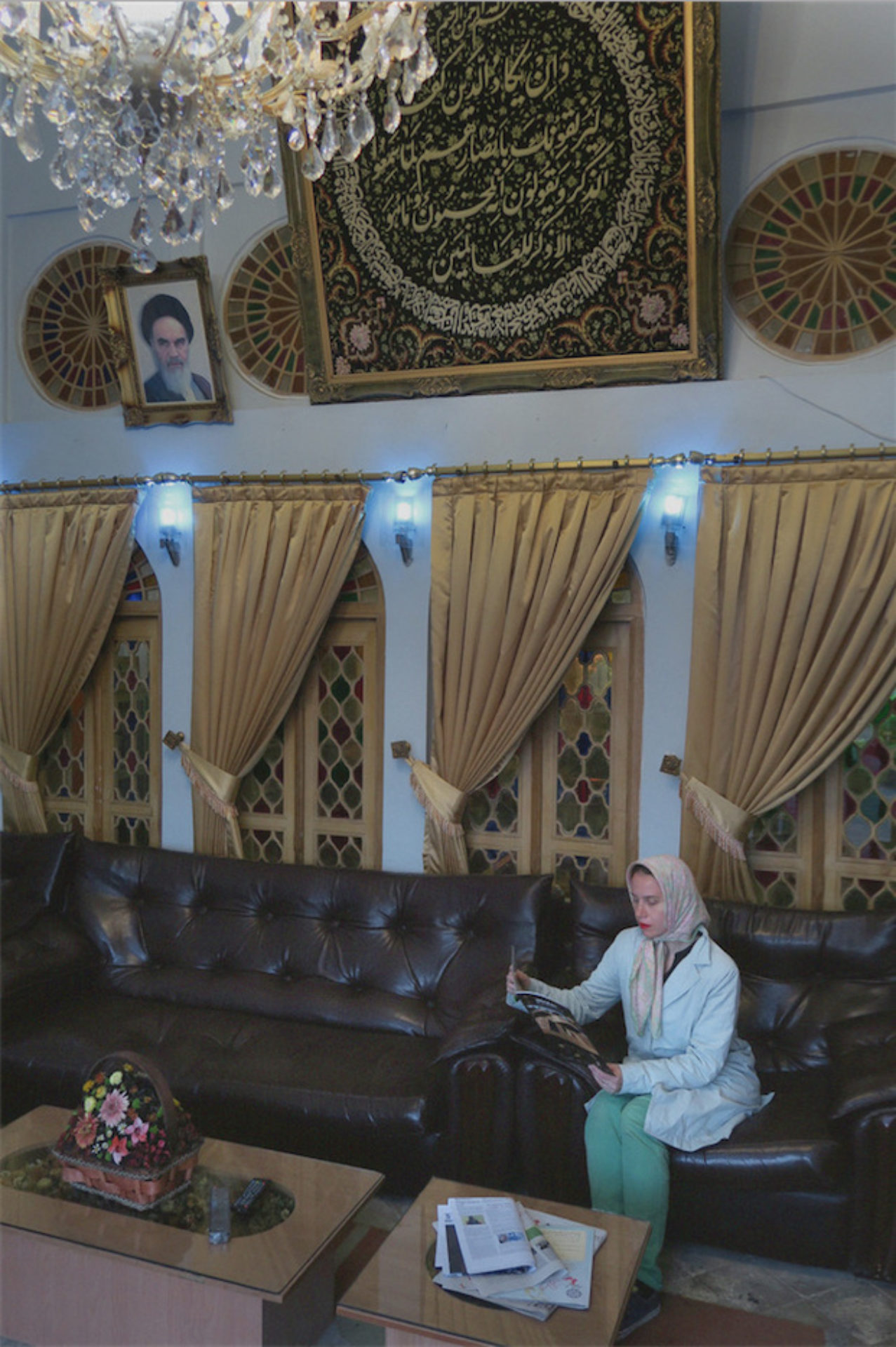Aneta Grzeszykowska, Iranian Filmstills, 2015, #55