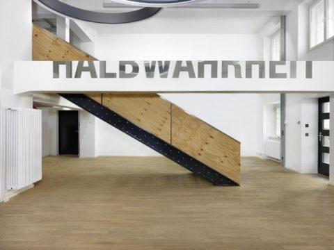 Pradoliub Ivanov, HALBWAHRHEIT (Half-Truth), 1999–2015, Installation Konzernhaus Deutsche Telekom, Berlin