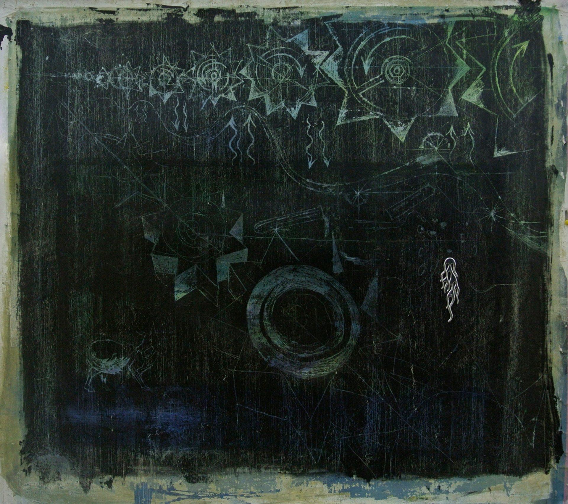 Hortensia Mi Kafchin, Study for Ouroboros, 2014