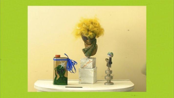 Hortensia Mi Kafchin, Bald Commercial, 2012, HD video, sound, 02 01min , courtesy of the artist & Sabot Gallery