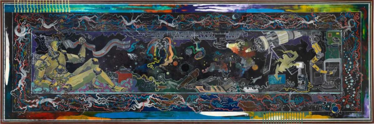 Hortensia Mi Kafchin, Tapestry of Effigies, 2013