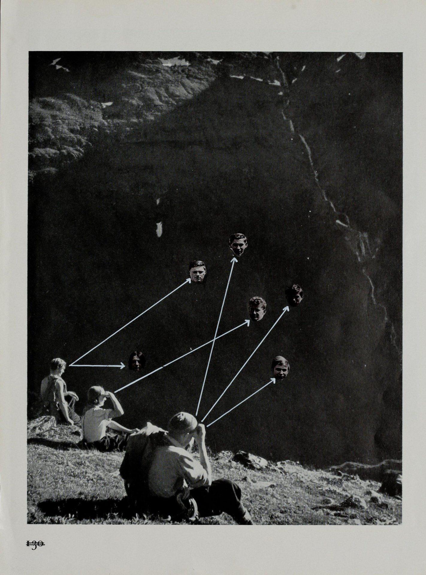 Eva Kot'átková, Untitled, from the series Parallel Biography, 2011