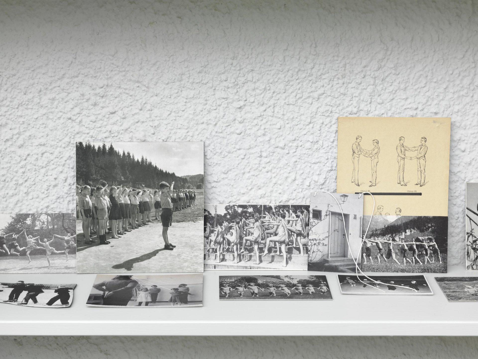 Eva Kot'átková, Psychological Theatre, Collection of Oskar, A Boy, Who Talks through Images, 2014, Detail