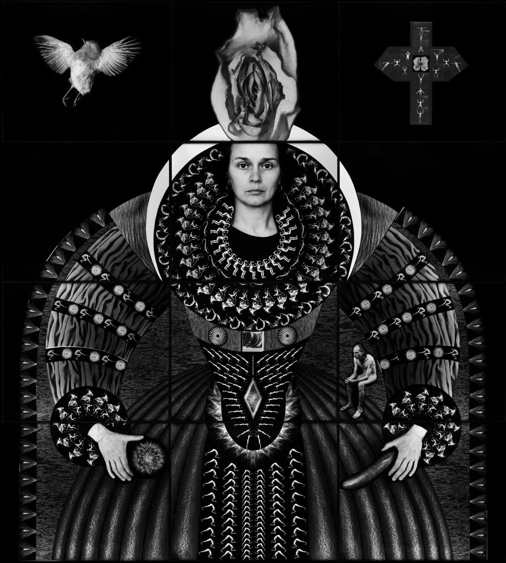 Zofia Kulik, The Splendour of Myself IV, 2007