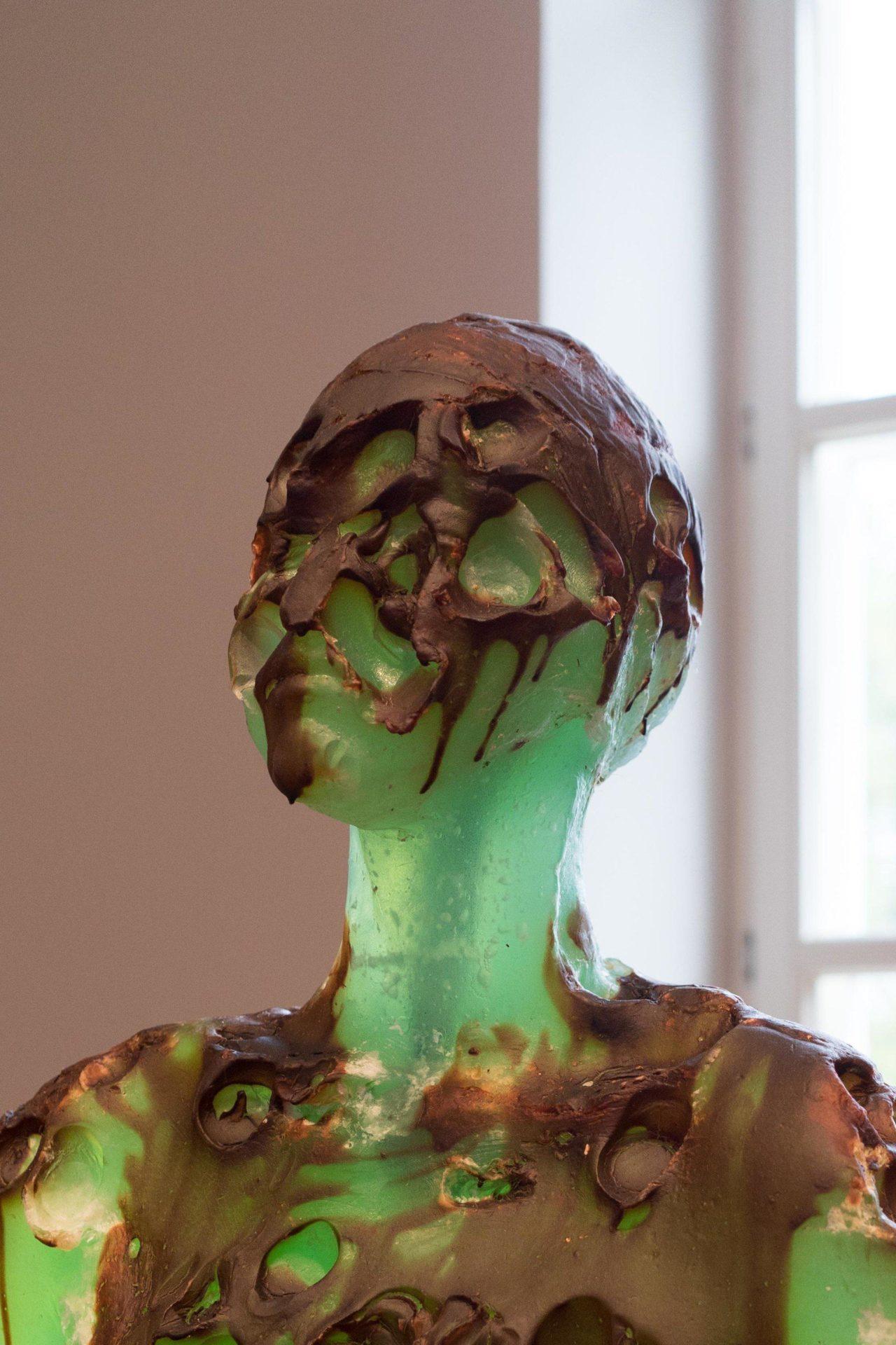 Maria Kulikovska, Homo Bulla, 2015, Detail