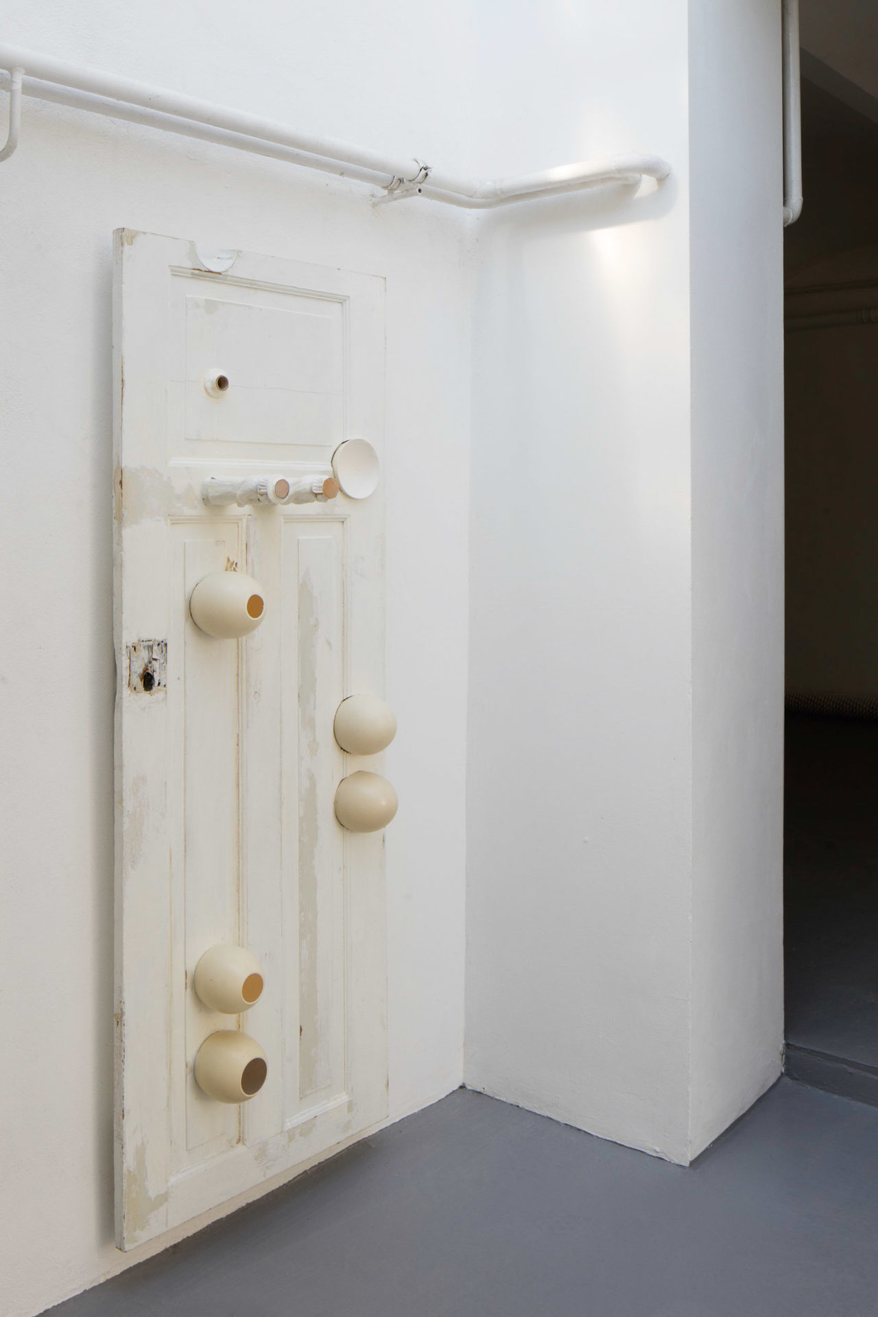 Piotr Łakomy, Neighbour Bathroom Door, 2019