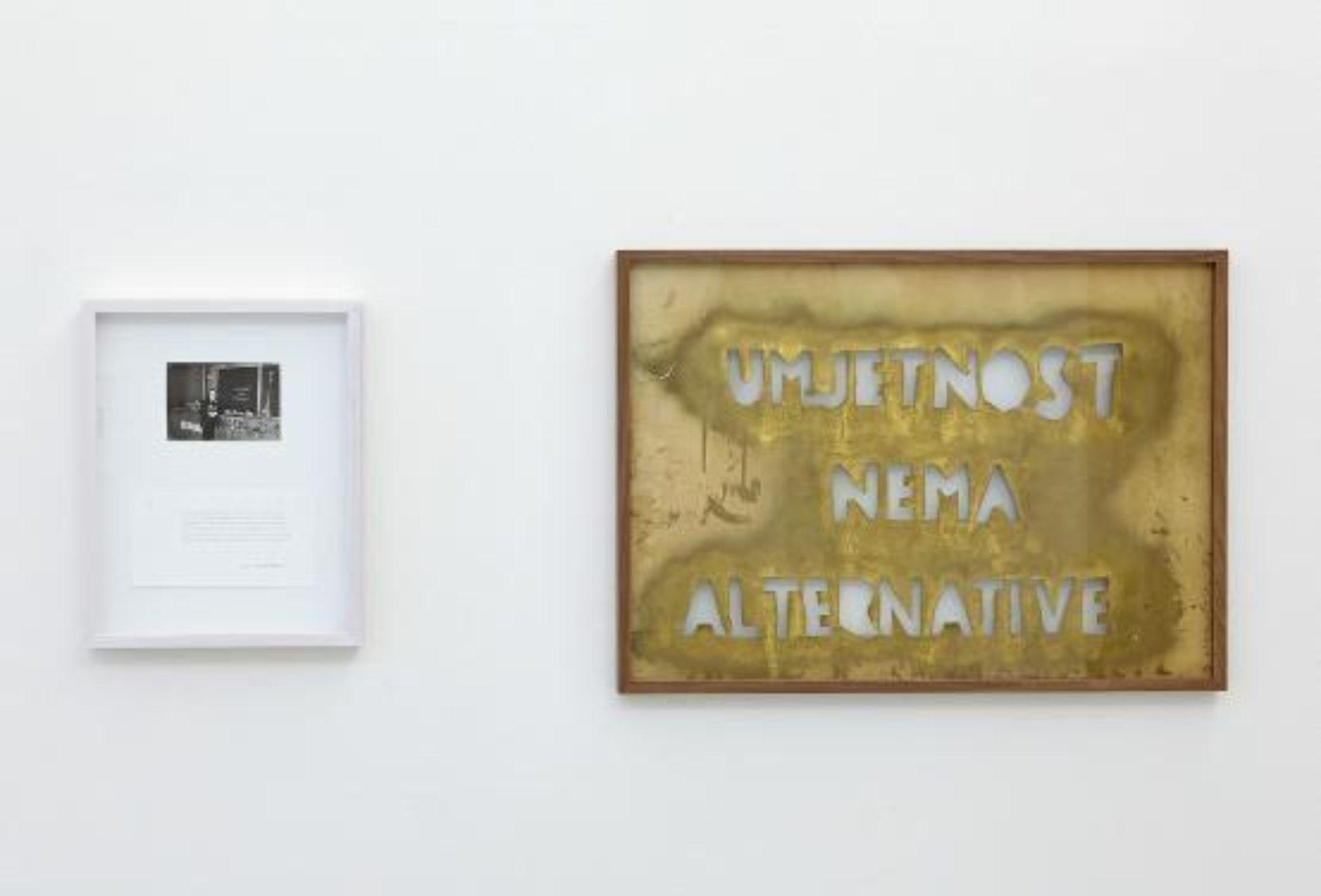 Vlado Martek, Art Has No Alternative, 2016